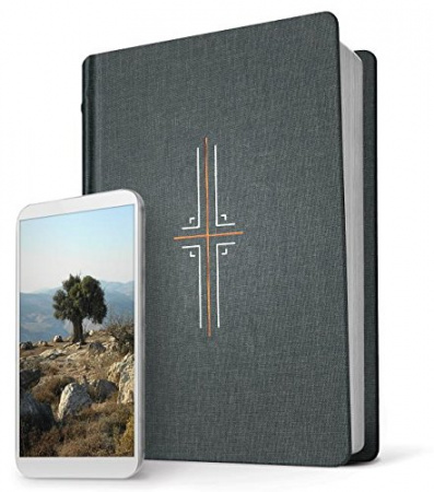 Filament Bible NLT: The Print+Digital Bible (Gray)