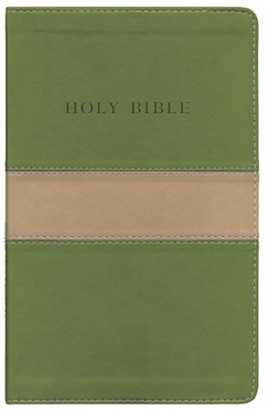 The Holy Bible: King James Version (Olive & Tan)