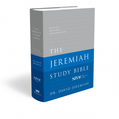 The Jeremiah Study Bible: What It Says. What It Means. What It Means for You. (NIV)