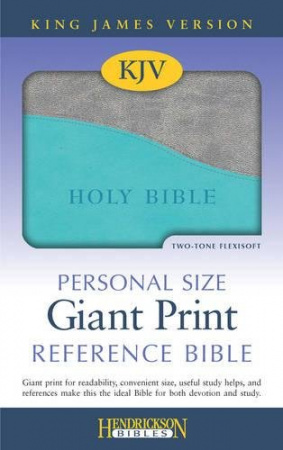 The Holy Bible: King James Version (Turquoise & Gray)