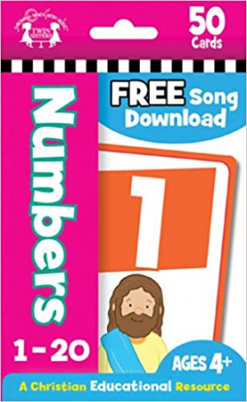Numbers Christian 50-Count Flash Cards