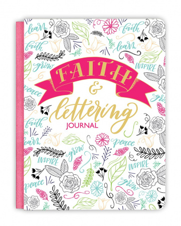 Faith & Lettering Journal (Deluxe Signature Journal)