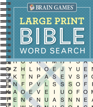 Bible Word Search (Large Print)