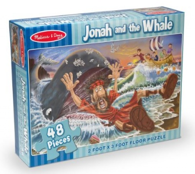 Jonah & The Whale Puzzle (48 Piece)
