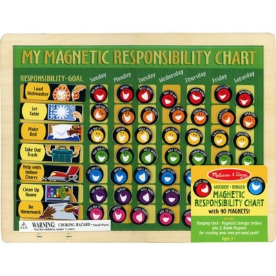 My Magnetic Responsibility Chart