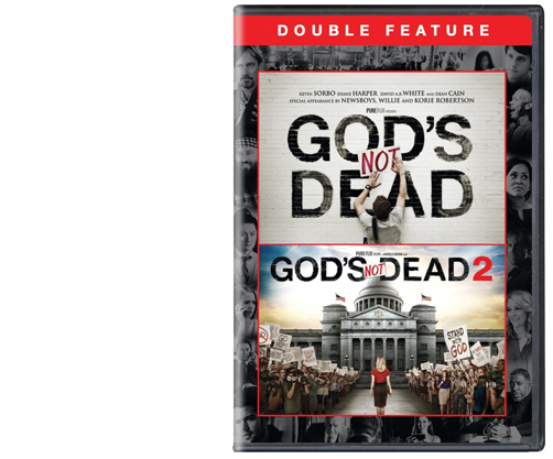 God's Not Dead 1 and 2 Double Feature (DVD)