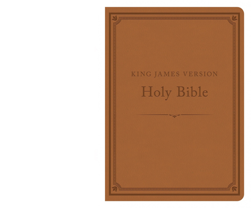 The KJV Compact Gift & Award Bible Reference Edition (Camel)