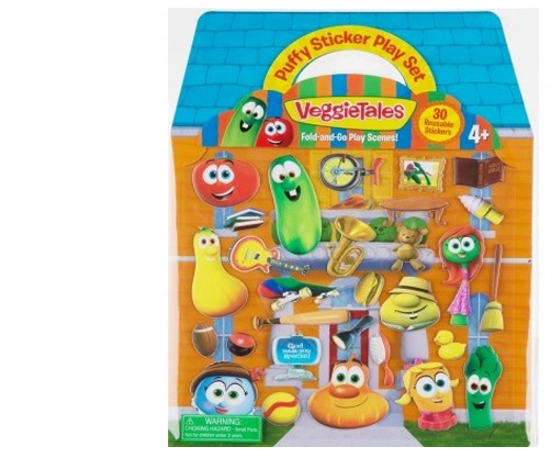 VeggieTales Puffy Sticker Set